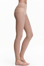 60 denier leggings - Beige - Ladies | H&M CN 1