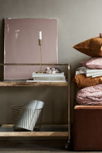 Grande cesto in filo metallico - Dorato - HOME | H&M IT 1