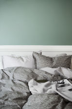 Waffled bedspread single - Light grey - Home All | H&M CN 1