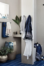Hand towel with embroidery - White - Home All | H&M CN 1