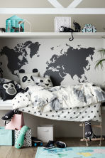 Tapis en coton avec atlas - Turquoise/animal - Home All | H&M FR 1