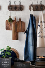 Grembiule in denim - Blu denim scuro - HOME | H&M IT 1