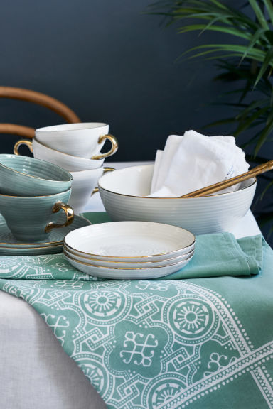Tasse en porcelaine - Vert ancien - Home All | H&M CA