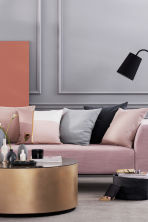 Copricuscino trapuntato - Rosa nebbia - HOME | H&M IT 1