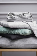 Slub-weave tea towel - Grey - Home All | H&M CA 1