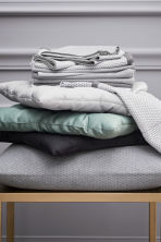 Lot de 2 torchons - Gris/motif - Home All | H&M FR 1
