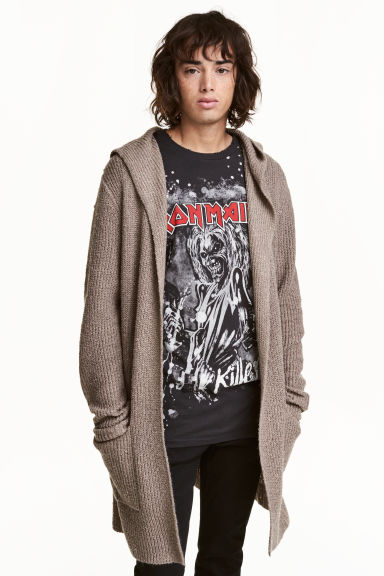 Long cardigan - Mole - Men | H&M CN 1