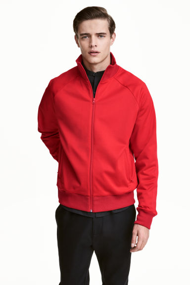 Sports jacket - Red - Men | H&M CN 1