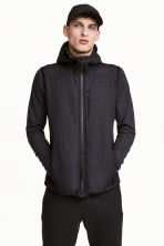 Padded bodywarmer - Black - Men | H&M CN 1