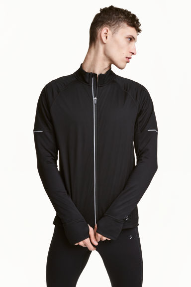 Winter running jacket - Black - Men | H&M CA 1