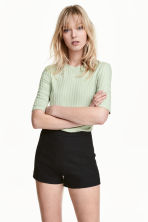 Jersey top - Light green - Ladies | H&M 1