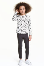 Treggings - Dark grey - Kids | H&M 1