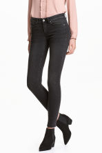 Super Skinny Regular Jeans - Negro washed out - MUJER | H&M ES 1
