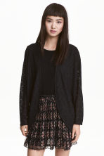 Lace cardigan - Black - Ladies | H&M 2