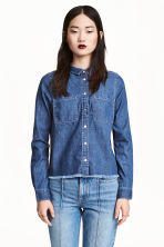 Camicia in denim - Blu denim - DONNA | H&M IT 1