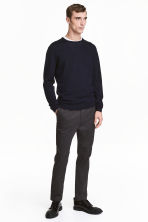 Premium cotton chinos - Anthracite grey - Men | H&M CN 2
