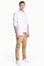 Premium cotton chinos - Beige - Men | H&M 2
