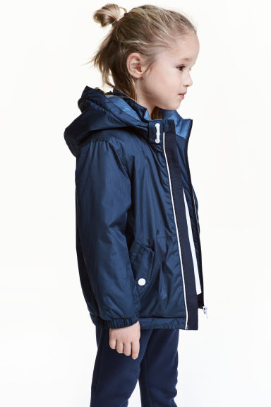 鋪棉外套 - Dark blue - Kids | H&M