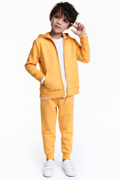 Sweatpants - Yellow - Kids | H&M 1