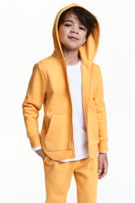 Hooded jacket - Yellow - Kids | H&M 1