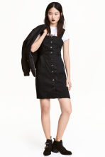 Denim dress - Black - Ladies | H&M CN 1