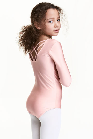 Leotard - Light pink - Kids | H&M 1