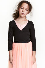 Short dance top - Black - Kids | H&M 1
