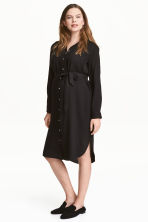 MAMA Shirt dress - Black - Ladies | H&M 1