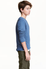 Sweatshirt - Blue - Kids | H&M CN 1