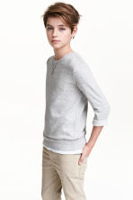 Sweatshirt - Grey marl - Kids | H&M CN 1