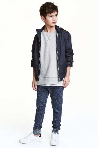 Joggers - Dark blue marl - Kids | H&M CN 1
