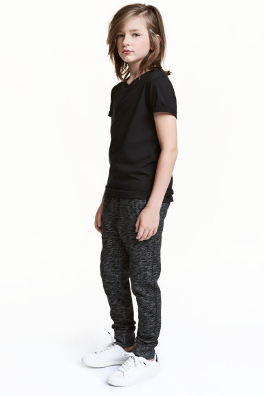 Joggers - Nero mélange -  | H&M IT 1