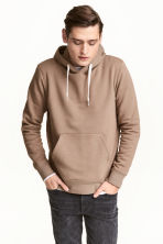 Hooded top - Dark beige - Men | H&M 1