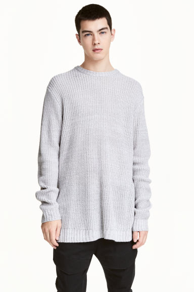 Ribbed jumper Model