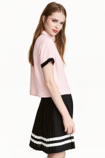 Viscose blouse - Light pink - Ladies | H&M 1