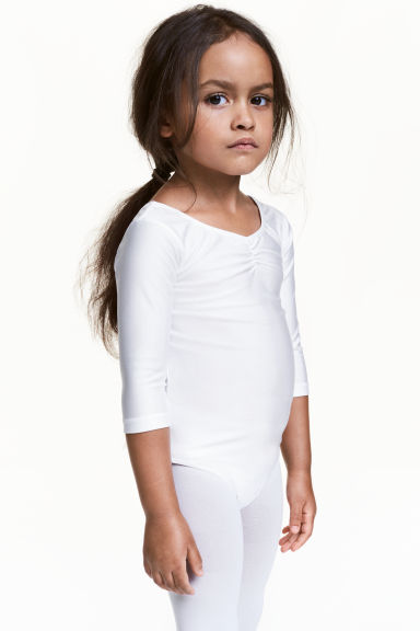 Leotard - White - Kids | H&M 1
