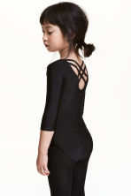 Leotard - Black - Kids | H&M 1
