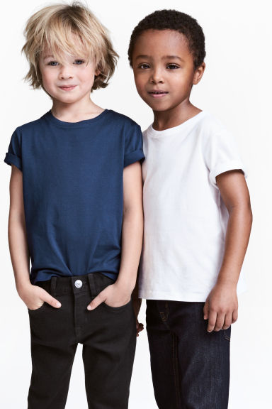 2-pack T-shirts - Dark blue - Kids | H&M CN 1