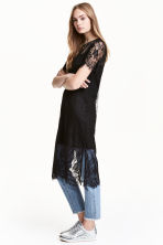 Lace dress - Black - Ladies | H&M CN 1