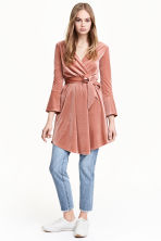 Wrapover dress - Rose - Ladies | H&M 1