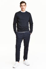 Pull-on trousers - Dark blue - Men | H&M 1