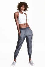 Sports trousers - Dark grey - Ladies | H&M 1