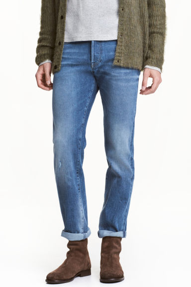 360° Tech Stretch Jeans - Denim blue - Men | H&M