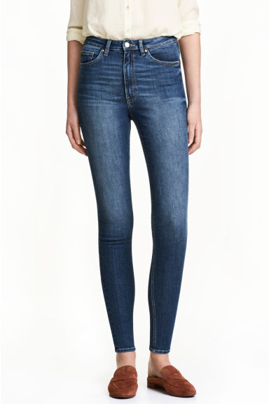 Skinny High Ankle Jeans - Bleu denim -  | H&M FR