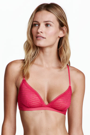 Reggiseni in tulle, 2 pz - Nero/ciliegia - DONNA | H&M IT 1