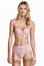 Suspender belt - Vintage pink - Ladies | H&M 1