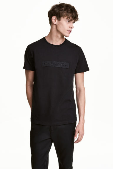 Cotton T-shirt - Black/Star Wars - Men | H&M 1