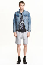 Shorts in felpa - Grigio mélange -  | H&M IT 2