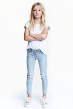Superstretch Skinny fit Jeans - Светло-голубой деним -  | H&M RU 1