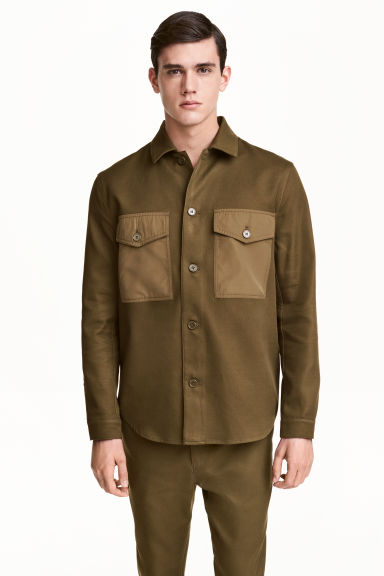 Utility shirt - Khaki - Men | H&M CN 1